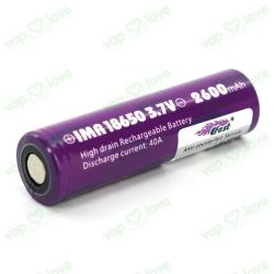 Batería Efest 18650 2600mAh 40A v1