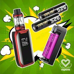 Batería Golisi S26 IMR 18650 2600mAh 25A