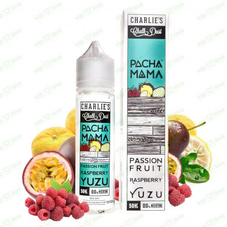 Passion Fruit, Raspberry, Yuzu - 50ml 0mg - Charlie's Chalk Dust - Pachamama