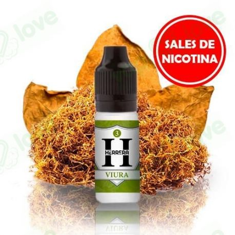 Viura Sales de Nicotina 10ml - Herrera