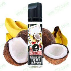 Coco y Plátano 50ml 0mg - Drops