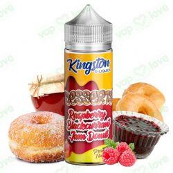 Raspberry Blackcurrant Jam Donut 100ml 0mg - Kingston E-Liquids