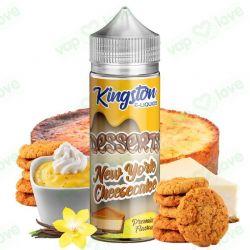 New York Cheesecake 100ml 0mg - Kingston E-Liquids
