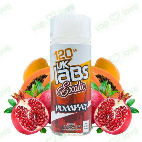 Pompay 100ml 0mg - UK Labs Exotic