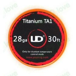 9m Titanio UD (TA1 D:0.3mm 28GA)