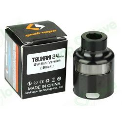 GeekVape Tsunami 24 Glass Window Top Cap Black