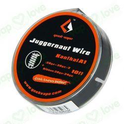 10ft. GeekVape Kanthal A1 Juggernaut Wire (28GA+38GA)x2+Ribbon(38GAx24GA)