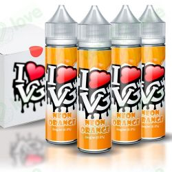I LIKE VG NEON ORANGE 0MG 50ML BOOSTER