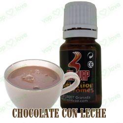 AROMA CHOCOLATE CON LECHE 10ML - OIL4VAP