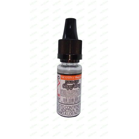 NIKO-VAP (Kit nicotina OIL4VAP) 30PG/70VG