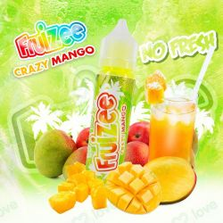 50ML FRUIZEE CRAZY MANGO -NO FRESH- 0MG
