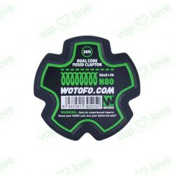 Bobina 6m (20ft) Dual Core Fused Clapton Wire 26*2+36 - Wotofo